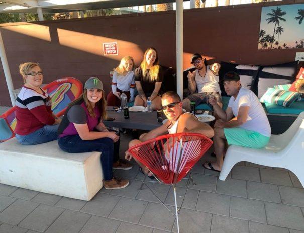 Sober Apartment Living group meeting